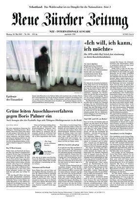 Neue Zürcher Zeitung International (10.05.2021)