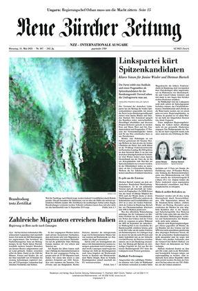 Neue Zürcher Zeitung International (11.05.2021)