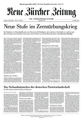 Neue Zürcher Zeitung International (15.05.2021)