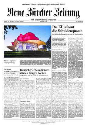 Neue Zürcher Zeitung International (11.06.2021)