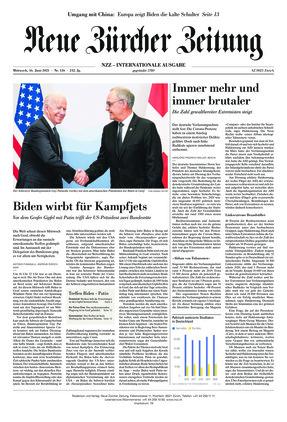 Neue Zürcher Zeitung International (16.06.2021)