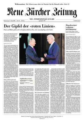 Neue Zürcher Zeitung International (17.06.2021)