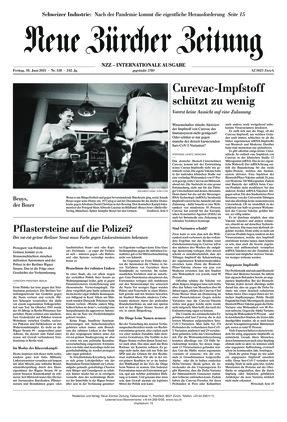 Neue Zürcher Zeitung International (18.06.2021)