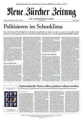 Neue Zürcher Zeitung International (19.06.2021)