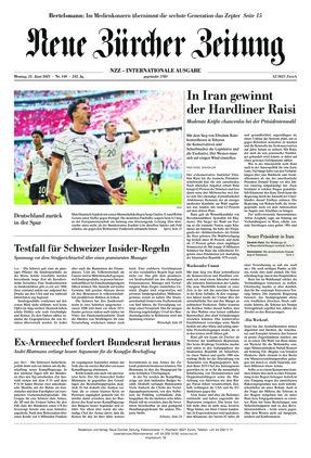 Neue Zürcher Zeitung International (21.06.2021)