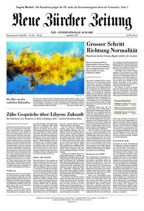 Neue Zürcher Zeitung International (24.06.2021)