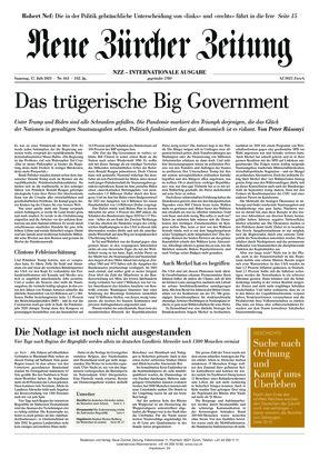 Neue Zürcher Zeitung International (17.07.2021)