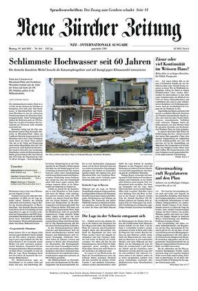 Neue Zürcher Zeitung International (19.07.2021)
