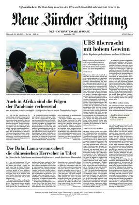 Neue Zürcher Zeitung International (21.07.2021)