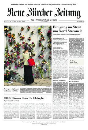 Neue Zürcher Zeitung International (22.07.2021)