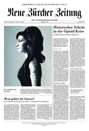 Neue Zürcher Zeitung International (23.07.2021)