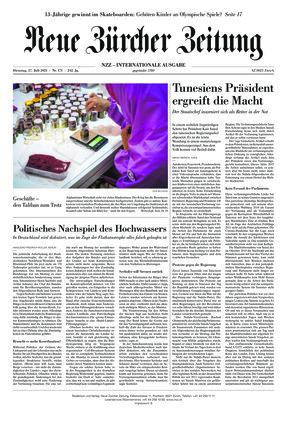Neue Zürcher Zeitung International (27.07.2021)