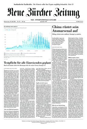 Neue Zürcher Zeitung International (29.07.2021)