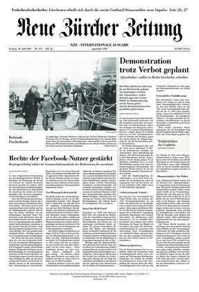 Neue Zürcher Zeitung International (30.07.2021)