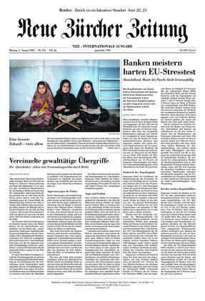 Neue Zürcher Zeitung International (02.08.2021)