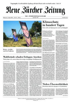 Neue Zürcher Zeitung International (04.08.2021)