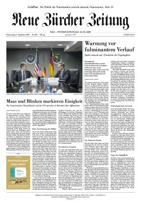 Neue Zürcher Zeitung International (09.09.2021)