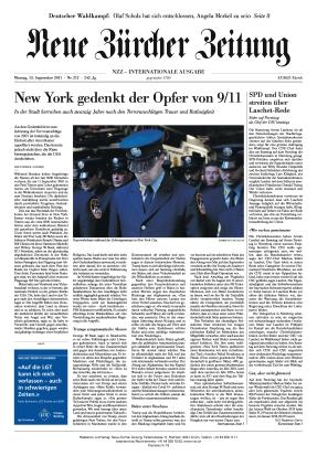 Neue Zürcher Zeitung International (13.09.2021)