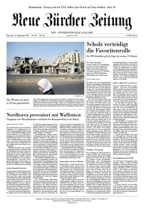 Neue Zürcher Zeitung International (14.09.2021)
