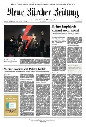 Neue Zürcher Zeitung International (15.09.2021)