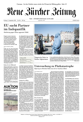 Neue Zürcher Zeitung International (17.09.2021)