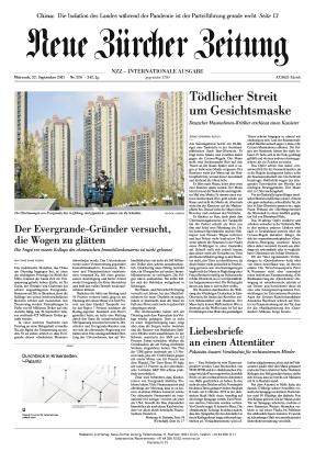 Neue Zürcher Zeitung International (22.09.2021)