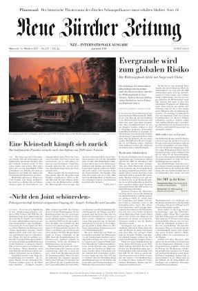 Neue Zürcher Zeitung International (13.10.2021)