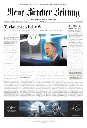 Neue Zürcher Zeitung International (14.10.2021)