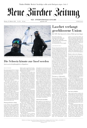 Neue Zürcher Zeitung International (18.10.2021)