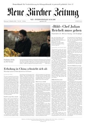 Neue Zürcher Zeitung International (19.10.2021)
