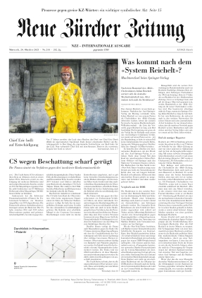 Neue Zürcher Zeitung International (20.10.2021)