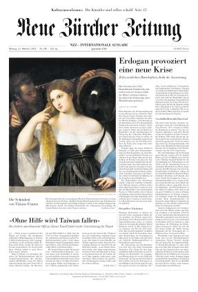 Neue Zürcher Zeitung International (25.10.2021)