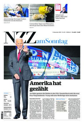 NZZ am Sonntag (08.11.2020)