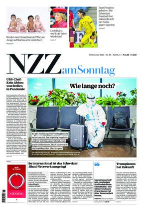 NZZ am Sonntag (15.11.2020)