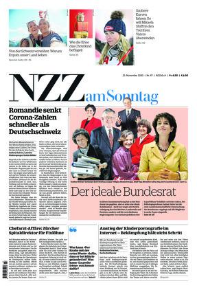 NZZ am Sonntag (22.11.2020)