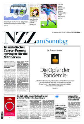 NZZ am Sonntag (29.11.2020)