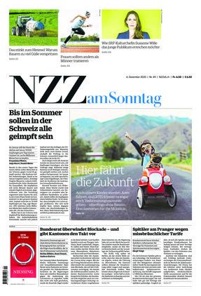 NZZ am Sonntag (06.12.2020)