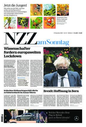 NZZ am Sonntag (27.12.2020)