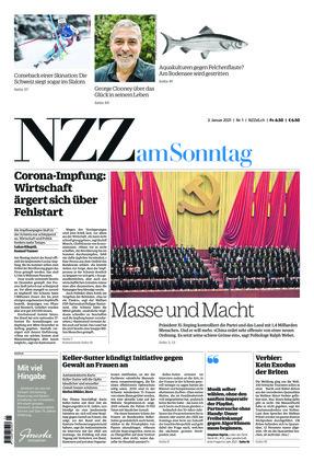 NZZ am Sonntag (03.01.2021)
