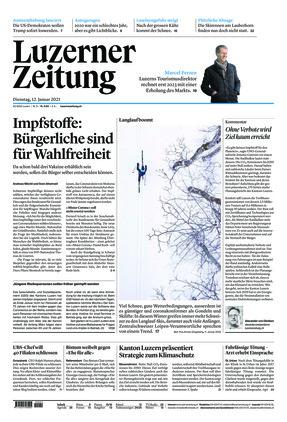 Luzerner Zeitung (12.01.2021)