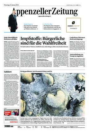 Appenzeller Zeitung (12.01.2021)