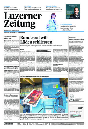 Luzerner Zeitung (13.01.2021)