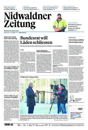 Nidwaldner Zeitung (13.01.2021)