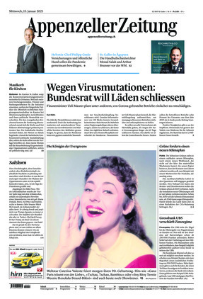 Appenzeller Zeitung (13.01.2021)