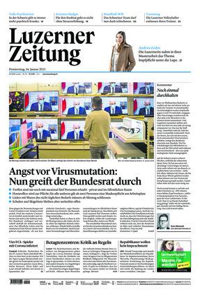 Luzerner Zeitung (14.01.2021)
