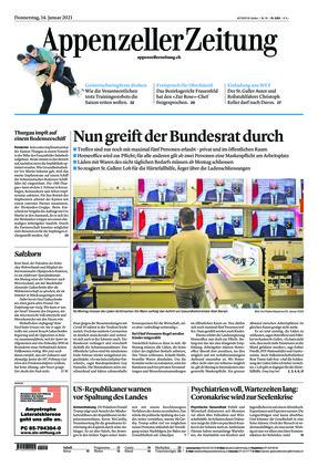 Appenzeller Zeitung (14.01.2021)