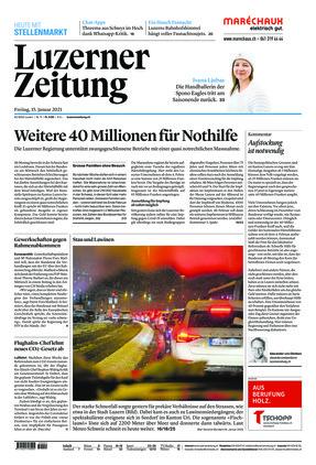 Luzerner Zeitung (15.01.2021)