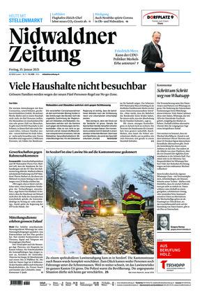 Nidwaldner Zeitung (15.01.2021)