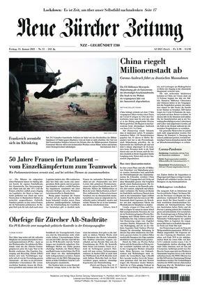 Neue Zürcher Zeitung (15.01.2021)