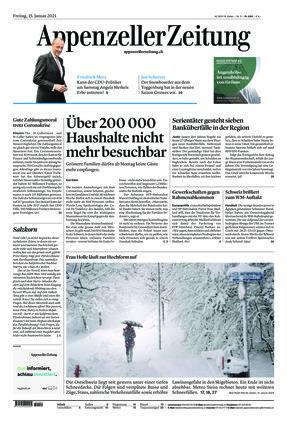 Appenzeller Zeitung (15.01.2021)